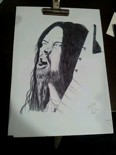 realistic, dimebag darrell with bic