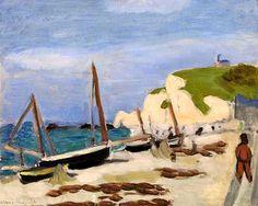 Henri Matisse  French, 1869–1954  The Black Boat (Le Bateau noir)