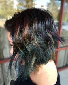 1000+ ideas about Oil Slick Hair on Pinterest   Slicked Hair, Hair and Oil Slick Hair Color