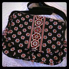 Vera Bradley Book Bag L14xh12xw4 Vera Bradley Bags Satchels