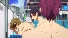 Makoharu more like Haru x Makoto (anime screenshot)--> FREE!