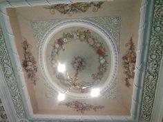 Расписной потолок в доме И.И.Демидова. Арх. М.Ф.Казаков