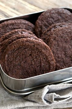 Get this tested recipe for soft, chocolatey gluten free brownie cookies. Perfect all by themselves, or for ice cream sandwiches!