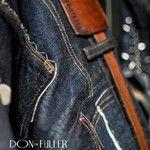 Tele con cimosa, rifinitiee sartoriali a mano e cuoio don the fuller jeans a success at milano fashion week FW 2013