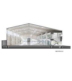 Gallery of System Warehouse / Mehran Khoshroo-olgooco - 40 Industrial Sheds, Industrial Office Design, Industrial Architecture, Office Interior Design, Sustainable Architecture, Residential Architecture, Contemporary Architecture, Warehouse Living, Warehouse Design