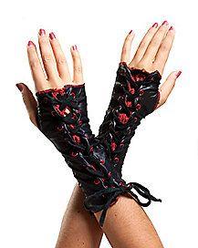 Lace up Glovelettes