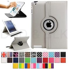 US-Deals Cars For Apple iPad 2/3/4 360 Rotating Magnetic PU Leather Case Smart Cover Stand: $5.50 End Date: Monday Mar-26-2018…%#USDeals%