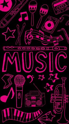 Black Phone Wallpaper, Neon Wallpaper, Wallpaper Iphone Disney, Music Wallpaper, Kawaii Wallpaper, Aesthetic Iphone Wallpaper, Cellphone Wallpaper, Screen Wallpaper, Aesthetic Wallpapers