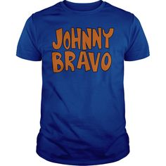 Johnny Bravo JB Logo T-Shirts, Hoodies. BUY IT NOW ==► Funny Tee Shirts