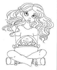 Cuddlebug Cuties: Easter freebie to color or use copic pens