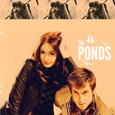 Amy and Rory Williams Pond (Doctor Who)
