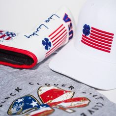 It's time to celebrate America, and we have just the collection for it, including our brand new Clover Nation series, USA Putter Cover, and Men and Women's Lucky Flag Tee's.