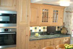 An Innova Harewood Oak Kitchen - http://www.diy-kitchens.com/kitchens/harewood-oak/details/