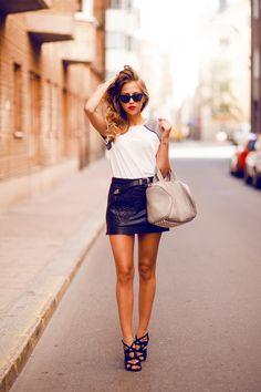 Fashion And Style Tumblr Kenza Zouiten Wearing Prada