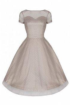 vintage romantic prom φόρεμα Linda dark vanilla 66,00 €