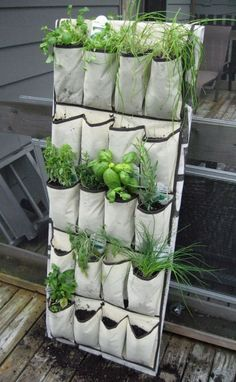 12 Ideas Which Materials to Use to Make A Vertical Garden