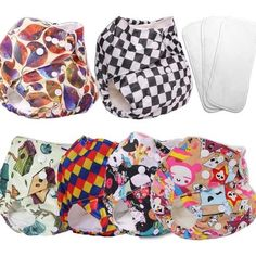 plain cloth diapers