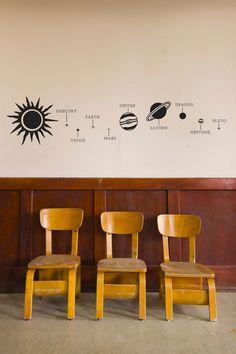 Solar System - Wall Decal Custom Vinyl Art Stickers by danadecals on Etsy https://www.etsy.com/listing/197337317/solar-system-wall-decal-custom-vinyl-art