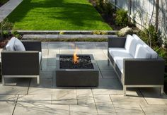 Make your patio a paradise with ethanol fire pits. Are you Making The Most Out Of Your Outdoor Living Space This Summer? Find out how on DigThisDesign.net