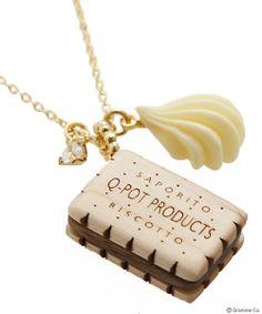 Milk Biscuit Whip Necklace