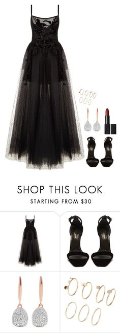 """""""Untitled #1266"""" by h1234l on Polyvore featuring Elie Saab, Yves Saint Laurent and Monica Vinader"""