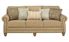 This is a strong contender when we finally replace our beat up couch....at Ashley Furniture HomeStore