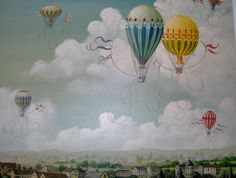 Ballooning over Paris 1890