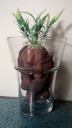 A pretty cool, DIY Harry Potter-inspired Mandrake. Love how it turned out. Complete instructions on the blog post.
