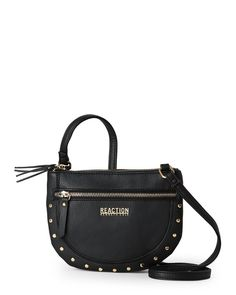 """Check out """"Black Mirror Mirror Studded Crossbody"""" from Century 21"""