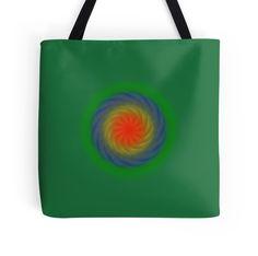 Sacred art print on bag