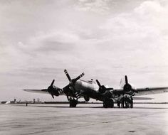 B-17 with a Turbo Prop and huge frontal  airscrew of the Pratt & Whitney's  T-34 Turbo Wasp. (Photo taken in September 1950). The first application for the T-34 was the Boeing YC-97J Stratofreighter, a turbo prop converted C-97 which later became the Aero Spacelines Super Guppy.