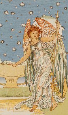XVII. The Star: Harmonious Tarot | Tarot Card Art | Major Arcana Cards | Divination