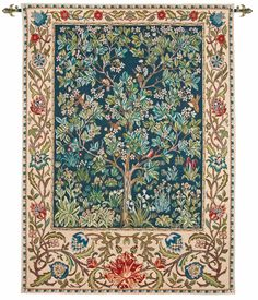 William Morris Tree of Life tapestry  http://www.artsandcraftsliving.co.uk/products/william-morris-tree-of-life-tapestry/