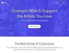 #Internet #Web_Social #Adquisición Kickstarter realiza su primera adquisición: Drip, salvándola de su cierre