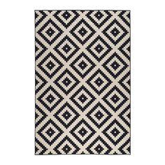 IKEA - LAPPLJUNG RUTA, Teppich Kurzflor, 200x300 cm, , Lässt sich dank der glatten Oberfläche gut staubsaugen; daher besonders geeignet für Wohnzimmer oder unter Esstischen.