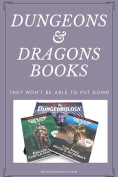 If you have a Dungeons & Dragons fan, they have to see these books! The series is awesome and Dungeonology cannot be missed. Read more now. #D&D #dungeons&dragons #candlewickpress #ad  #booklists