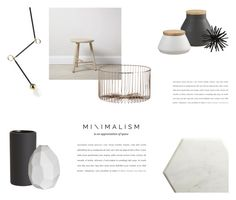 """""""MINIMAL KITCHEN"""" by canvas-moods ❤ liked on Polyvore featuring interior, interiors, interior design, home, home decor, interior decorating, canvas, CB2 and kitchen"""