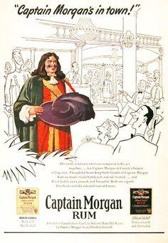 Captain Morgan Label