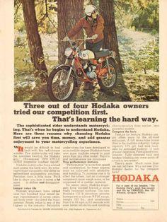 Vintage Dirt Bike: Hodaka