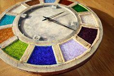 Hodiny Mind / Zboží prodejce Luciart | Fler.cz Clocks, Stepping Stones, Pottery, Clay, Outdoor Decor, Ideas, Home Decor, Home