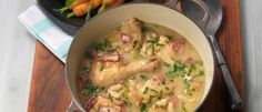 Chicken Cassoulet recipe from Food in a Minute