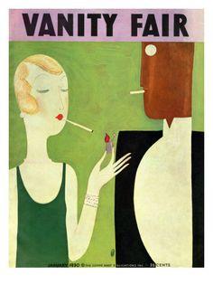 Vanity Fair Cover - January 1930