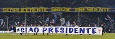 The Sud doesn't forget the President Riccardo Garrone