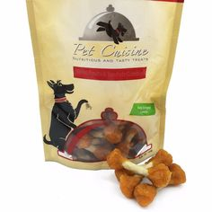 Pet Cuisine Natural Dog Treats Training Snacks Puppy Chewy Food,Sweet Potato & Rawhide Dumbbells, 250g