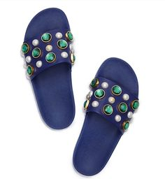 855a59f6e0013 Visit Tory Burch to shop for Vail Slide and more Womens View All. Find  designer shoes