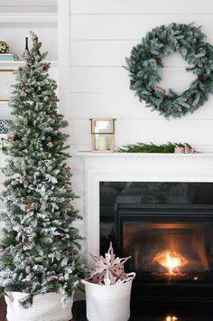 Farmhouse Christmas decoration inspiration