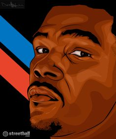 Kevin Durant Illustration on Streetball.com.