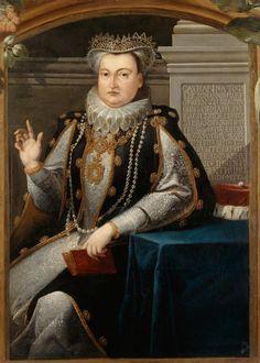 Kurfürstin Katharina von Brandenburg, geb. von Brandenburg-Küstrin (The paternal grandmother of Maria Eleonora