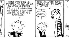 A showcase of why Bill Watterson is our hero.