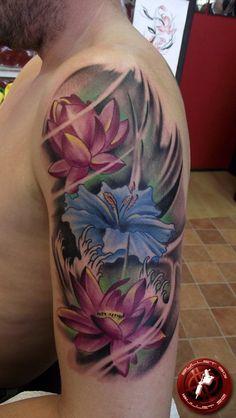 Lotus tattoo - 50 Elegent Lotus Tattoo Designs <3 <3